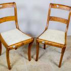 Antiik mahagon toolipaar