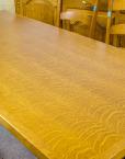 Antiik köögimööbel söögilaud kapp kuus tooli