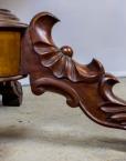 Antiik mahagonist ümmargune laud
